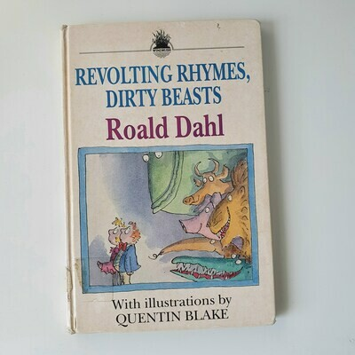 Revolting Rhymes, Dirty Beasts Roald Dahl Notebook