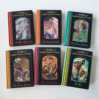 Lemony Snicket's A Series of Unfortunate Events - choose from a  selection