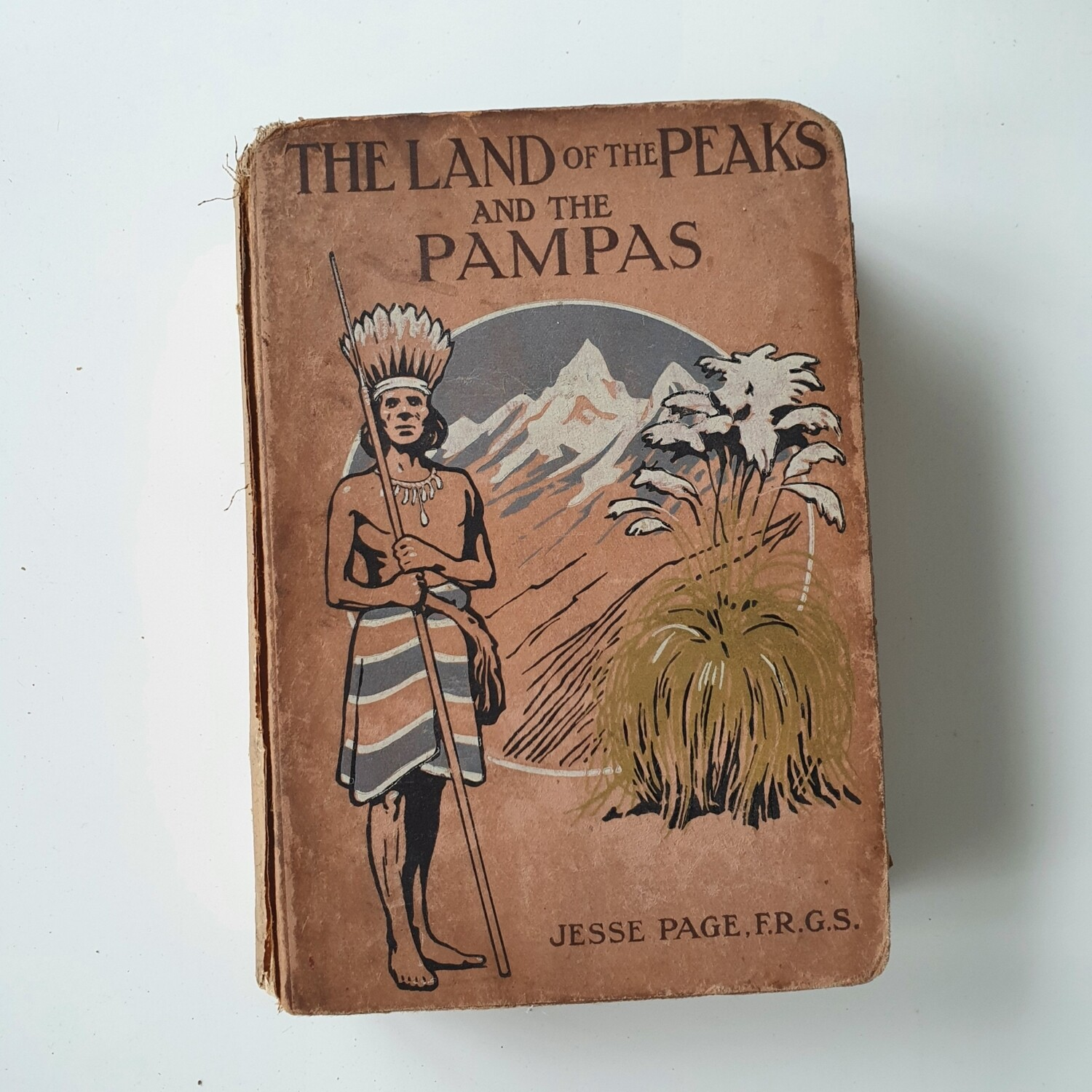 The Land of the Peaks and the Pampas - South America 1913