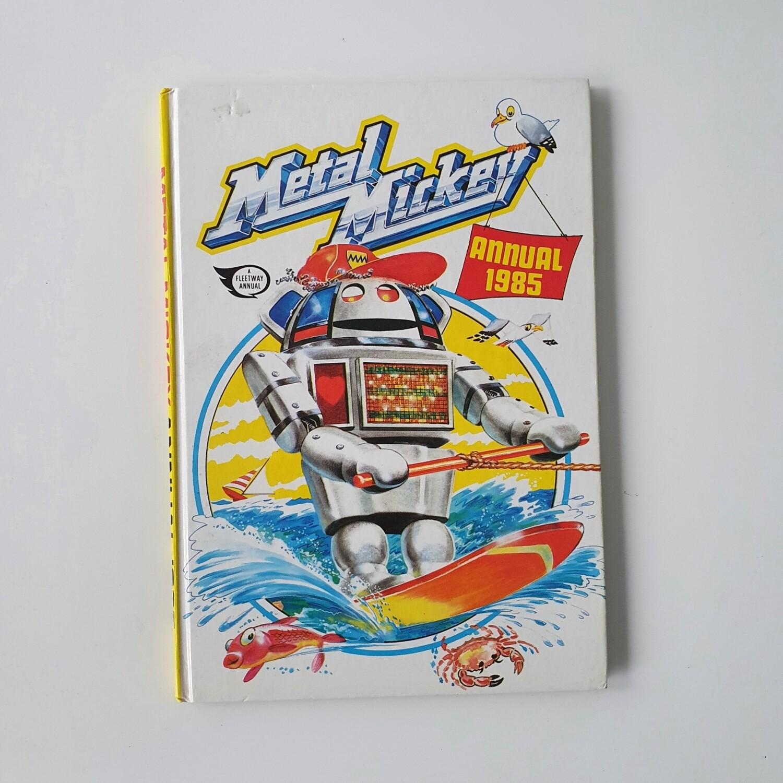 Metal Mickey 1985 Notebook