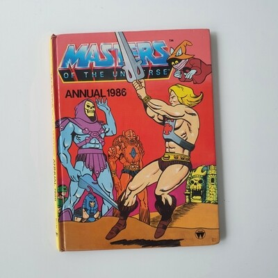 He Man notebook 1986 - skeletor, masters of the universe