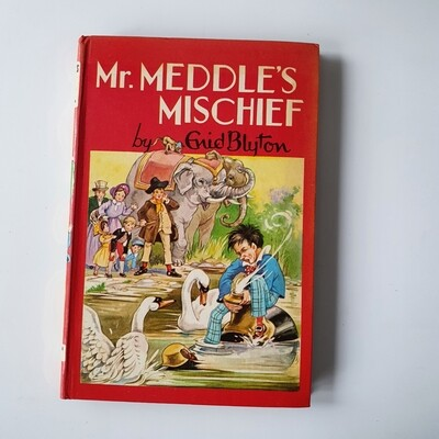 Mr Meddle books by Enid Blyton - choose from a selection