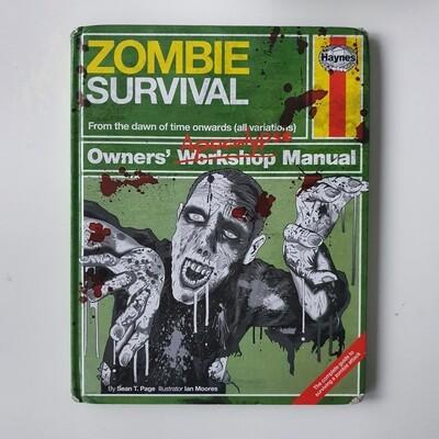 Zombie Survival - Haynes Manual Notebook