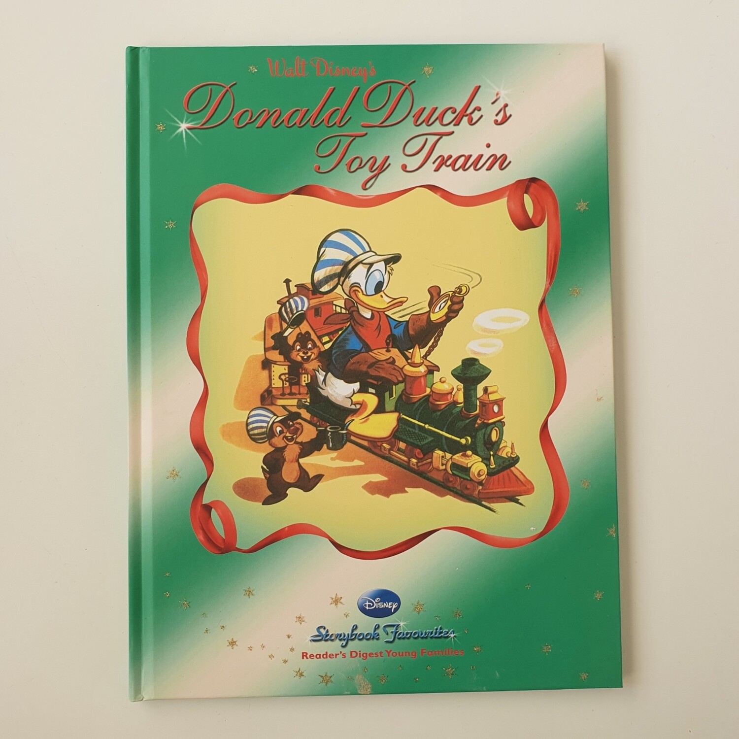 Donald Ducks Toy Train A4 notebook