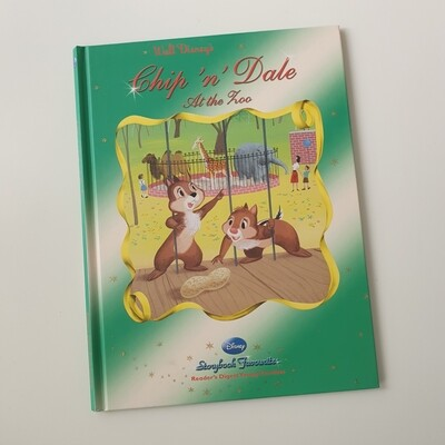Chip and Dale at the zoo A4 notebook - no original book pages