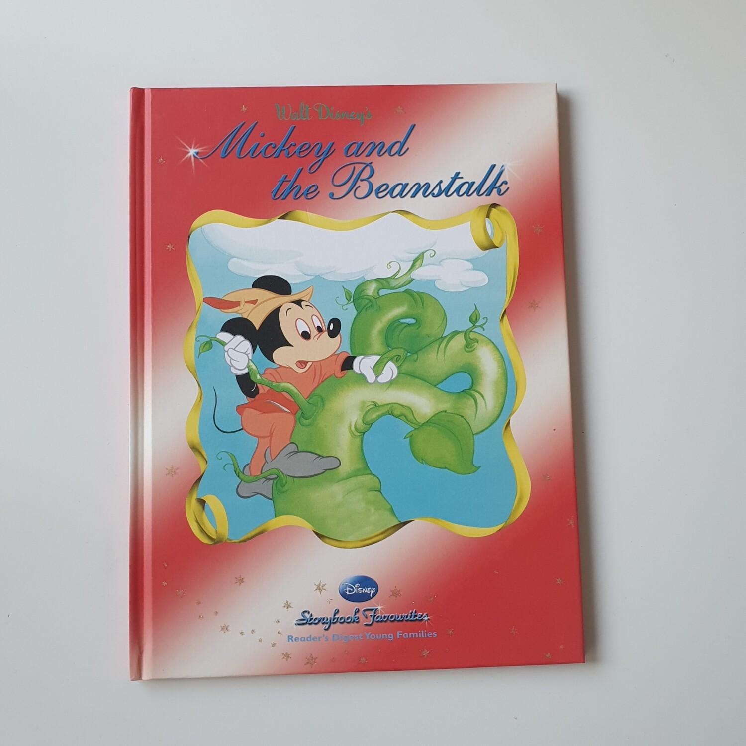 Mickey and the Beanstalk A4 notebook