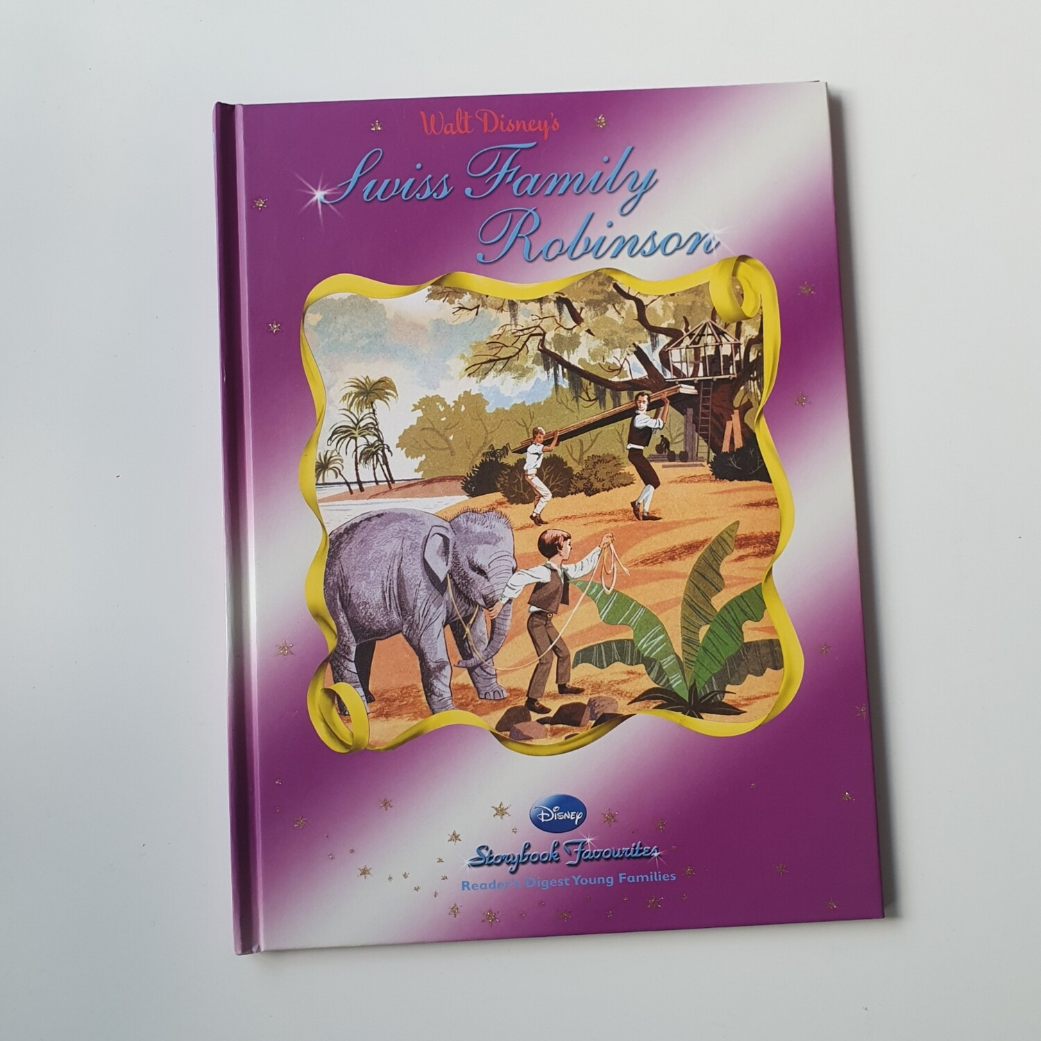 Swiss Family Robinson A4 Notebook - no original pages