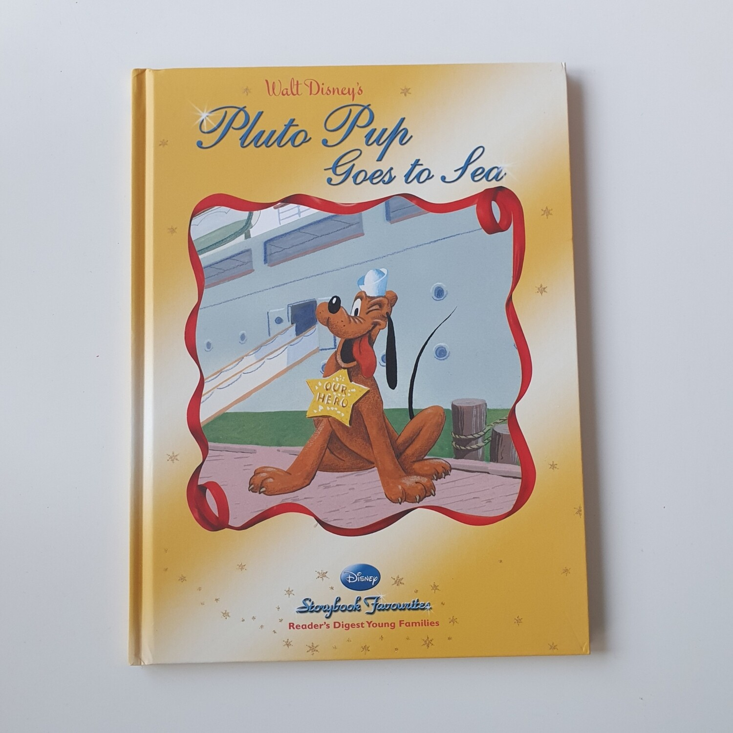 Pluto Pup Goes to Sea A4 Notebook