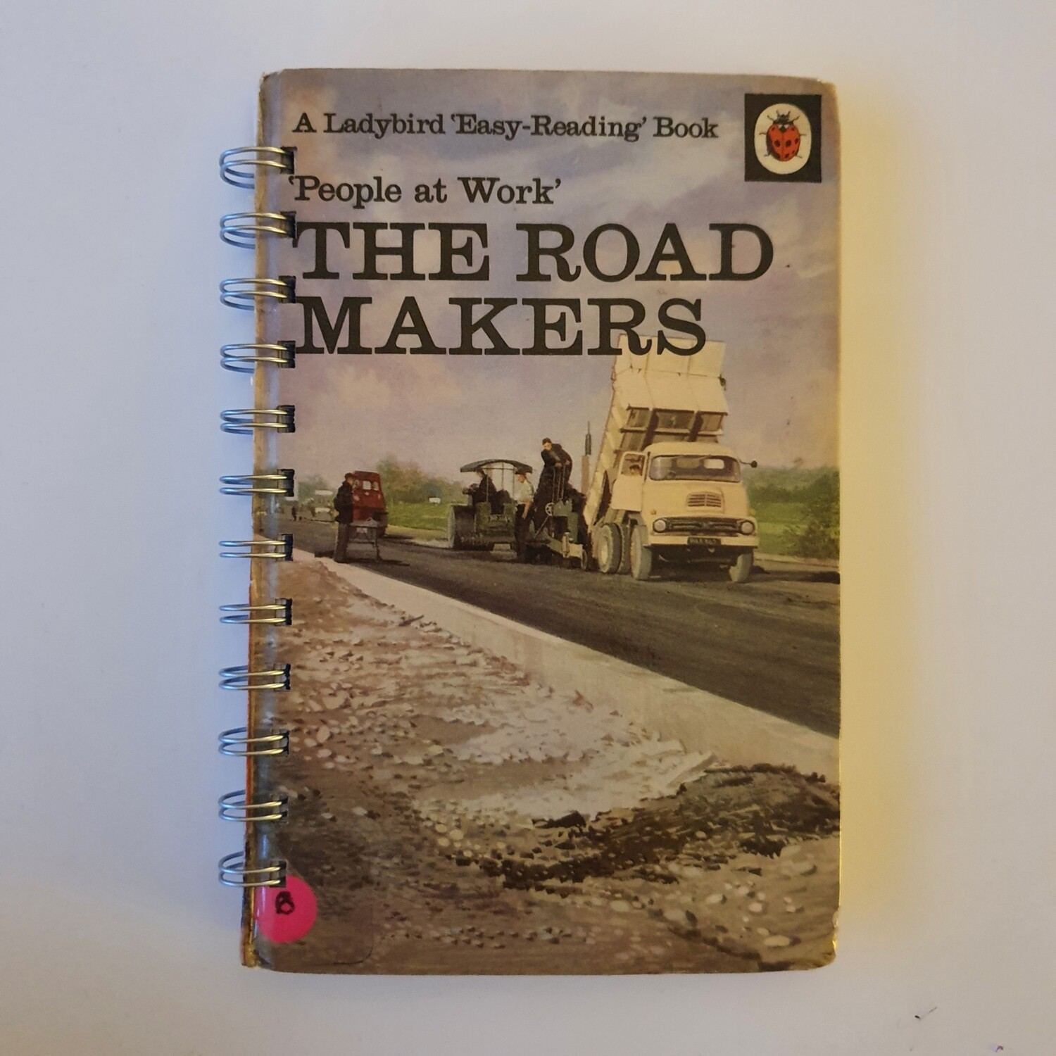 The Road Makers Plain Paper notebook - READY TO SHIP Ladybird Book