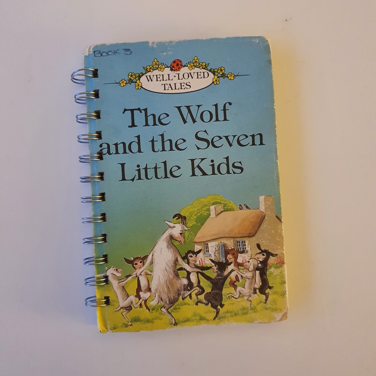 The Wolf and the Seven Little Kids Plain Paper notebook - READY TO SHIP Ladybird Book