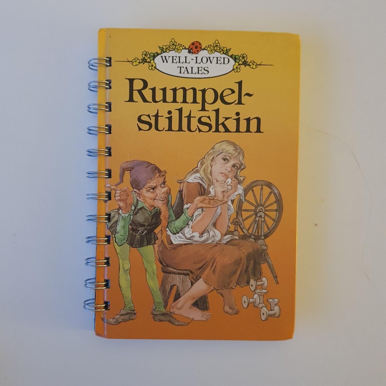 Rumpelstiltskin Plain Paper notebook - READY TO SHIP Ladybird Book