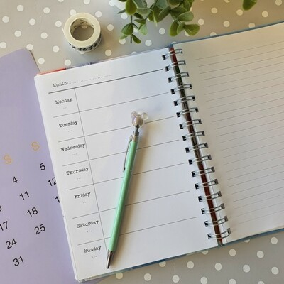 Diary - week per page