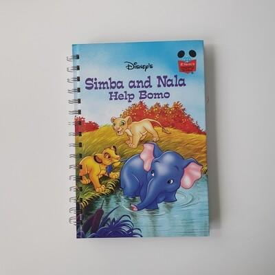 Lion King Week per View Diary - READY TO SHIP - Simba, Nala and Bomo