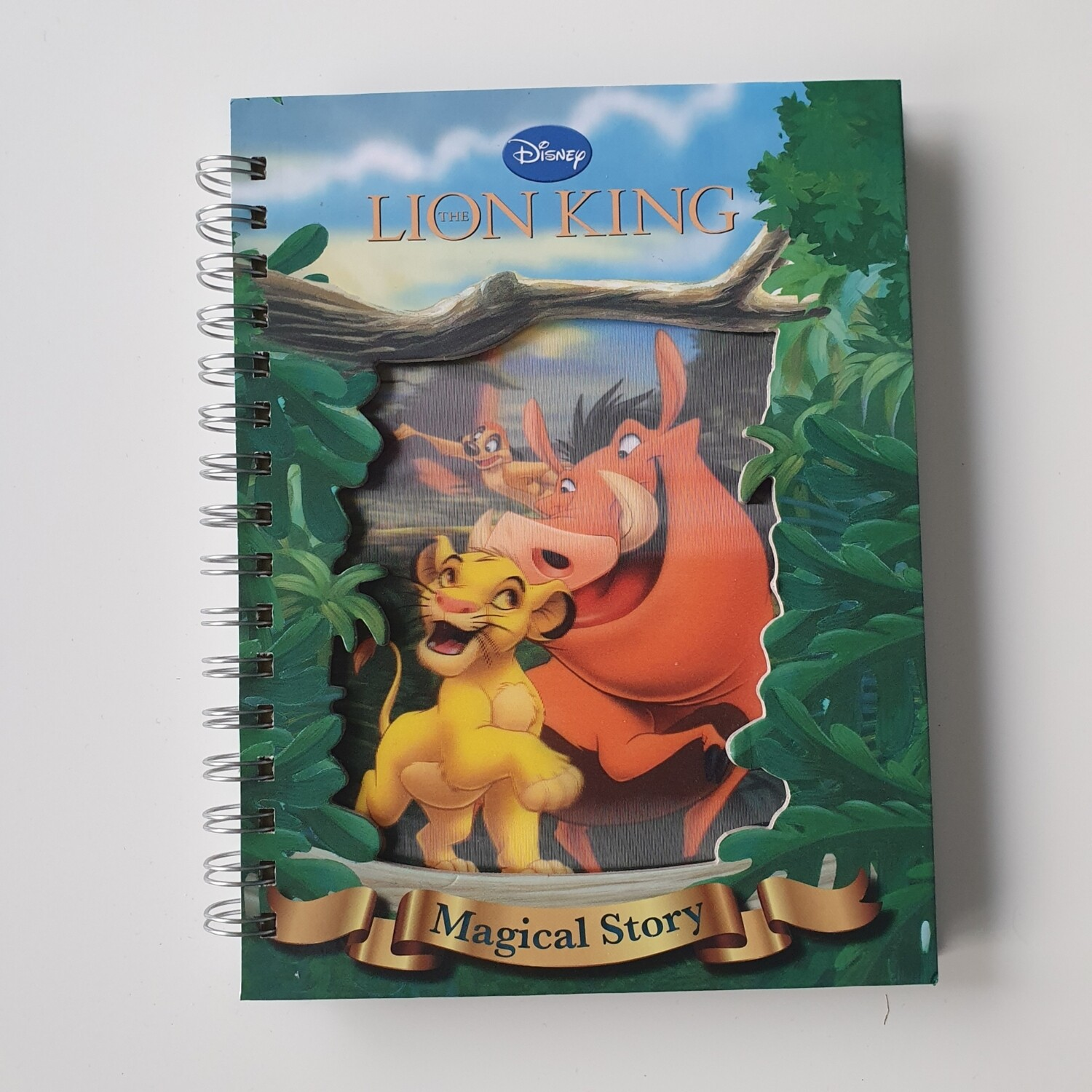 Lion King hologram cover Week per View Diary - READY TO SHIP