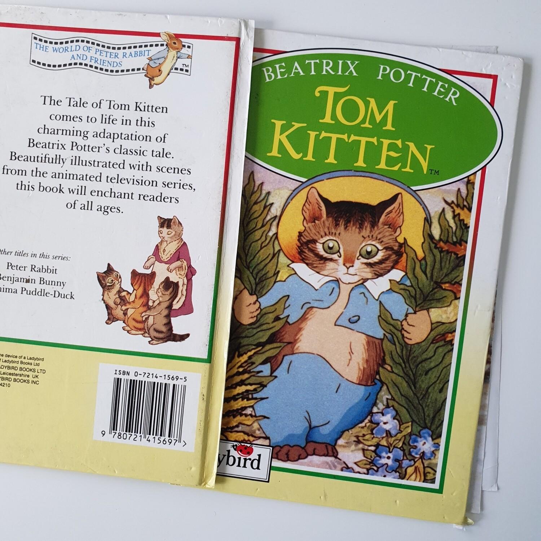 Tom Kitten Notebook - Ladybird book, Beatrix Potter