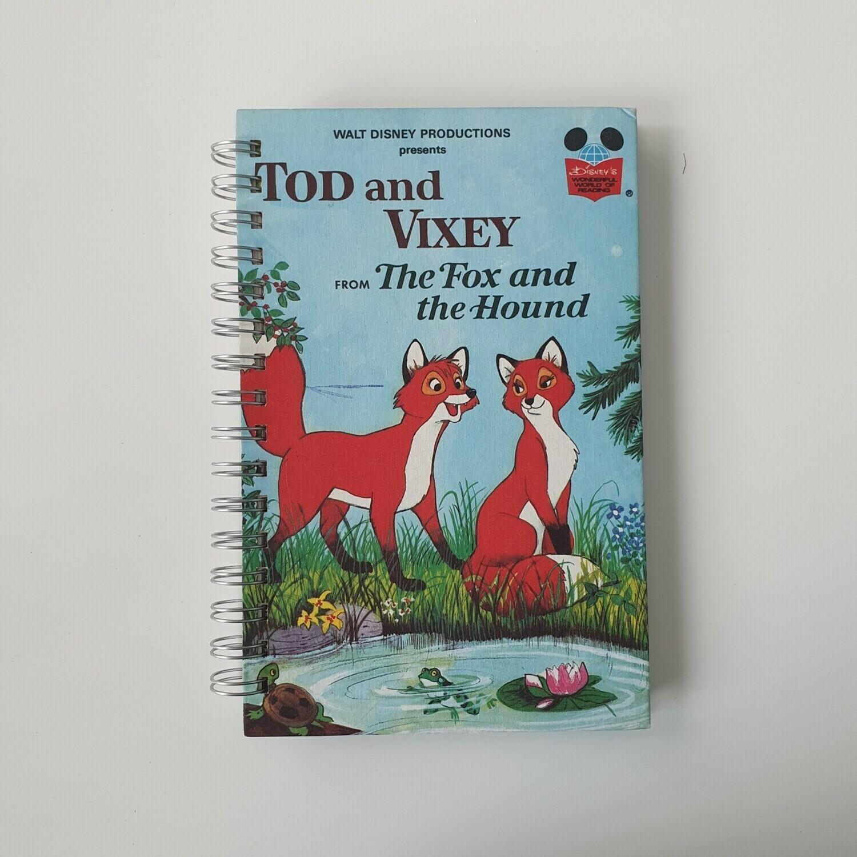 Fox & The Hound Notebook - Tod & Vixey