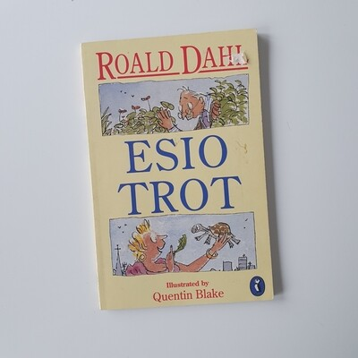 Esio Trot by Roald Dahl Notebook - made from a paperback book