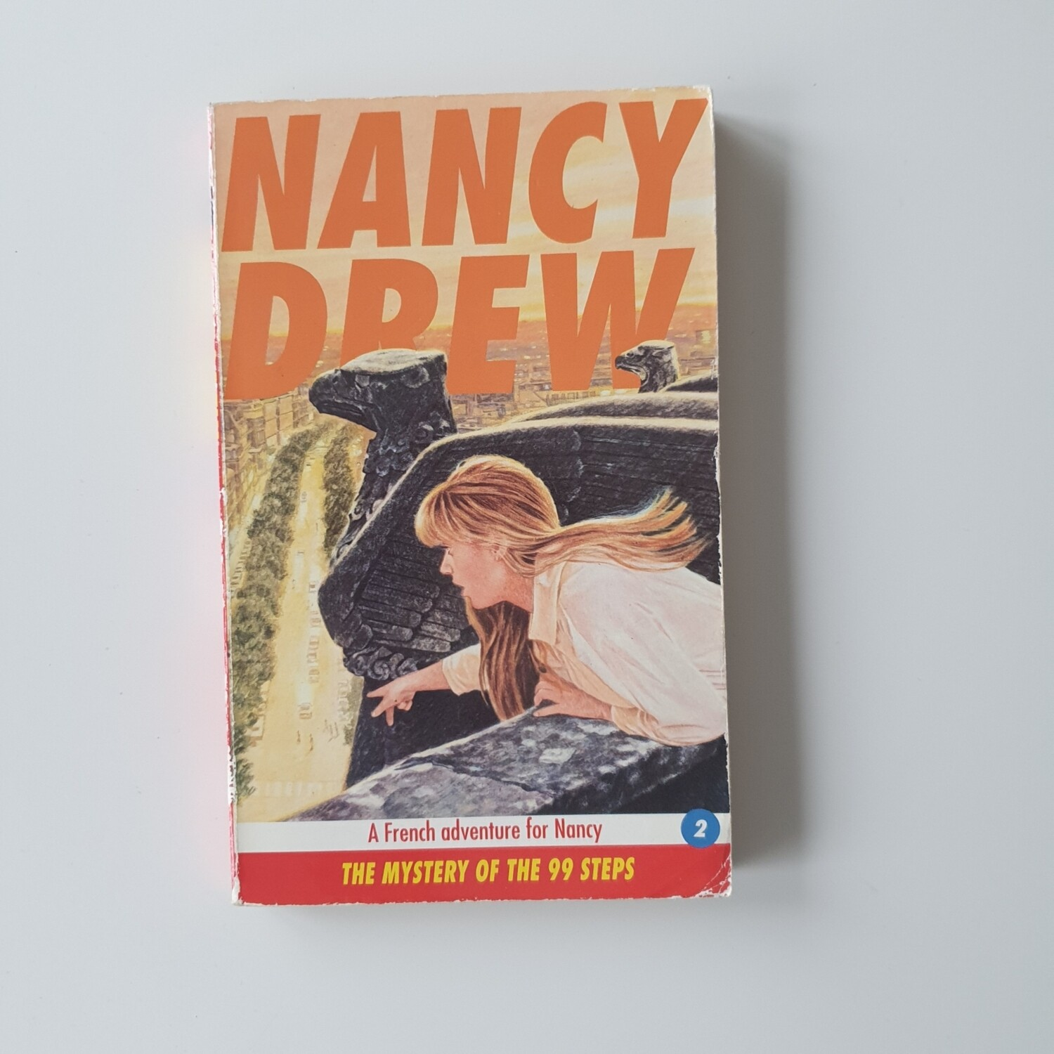 Nancy Drew Notebook - made from a paperback book