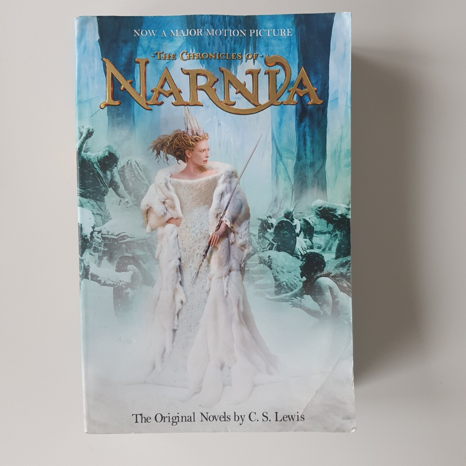 The Chronicles of Narnia - made from a paperback book