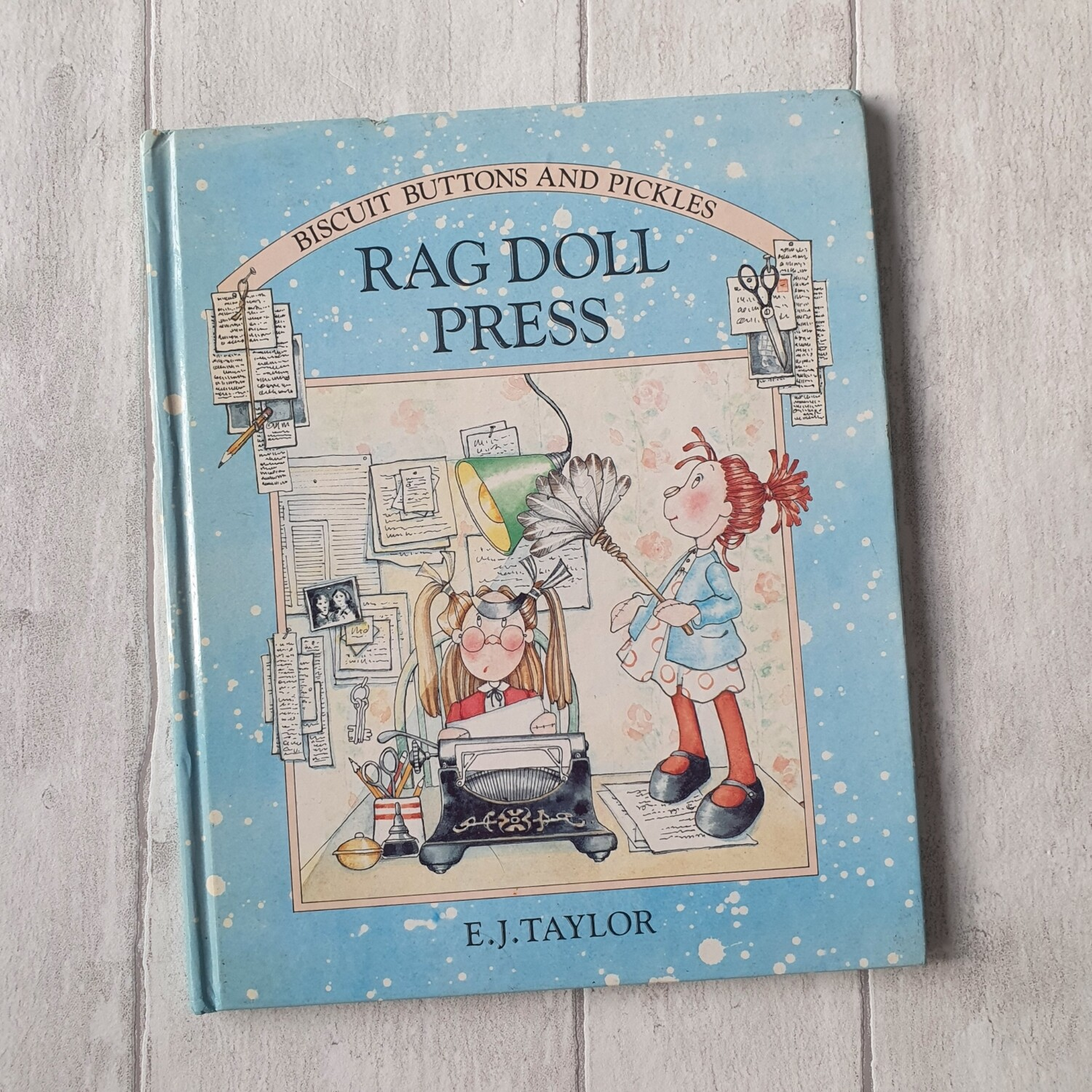 Rag Doll Press - Biscuit Buttons and Pickles