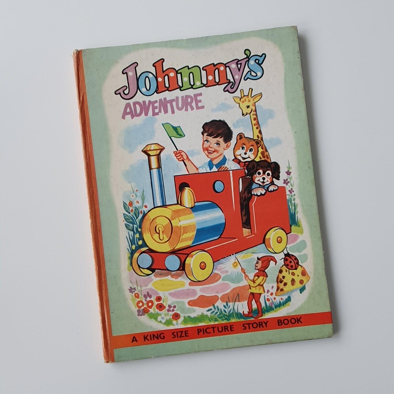 Johnnys Adventure bigger than A4 Notebook - no original book pages