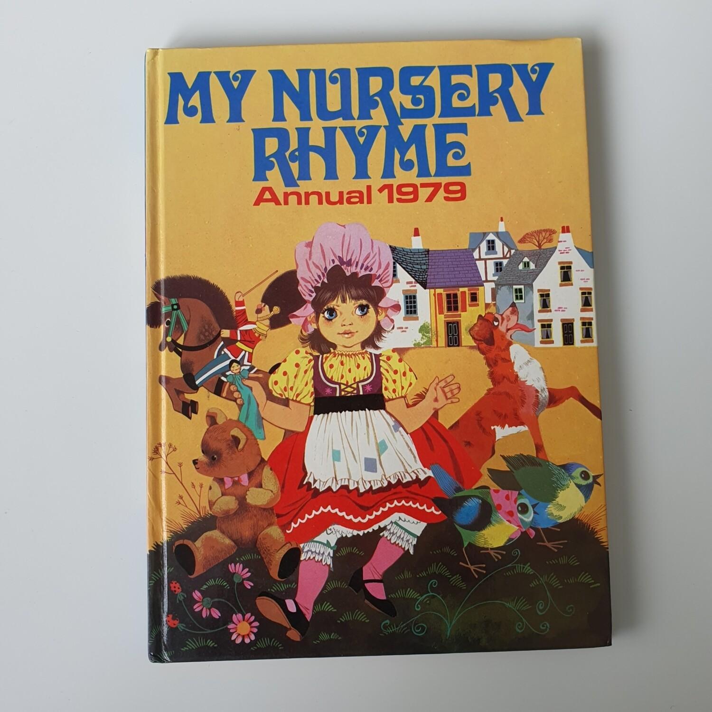 My Nursery Rhyme Annual 1979