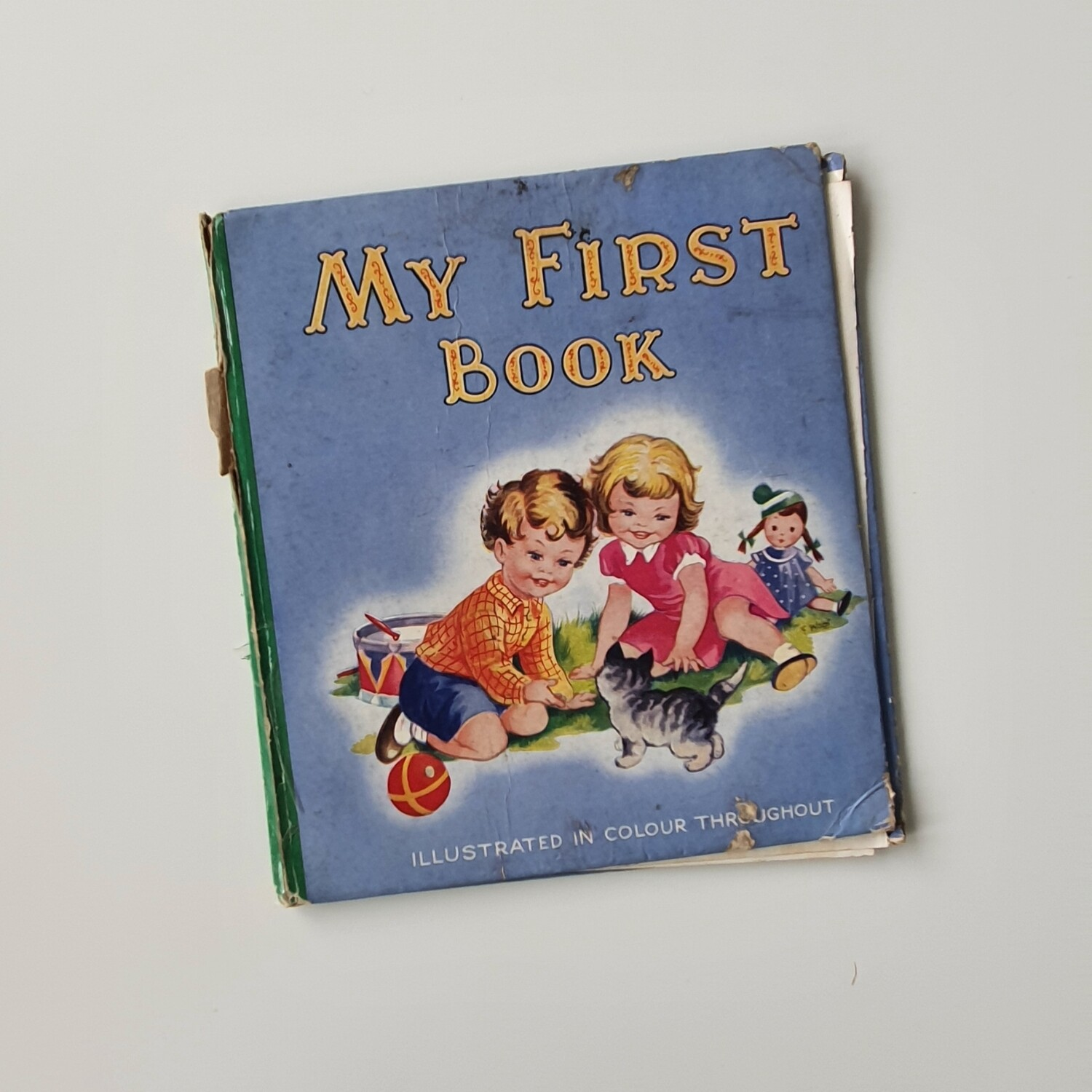 My First Book childrens vintage book c.1950s