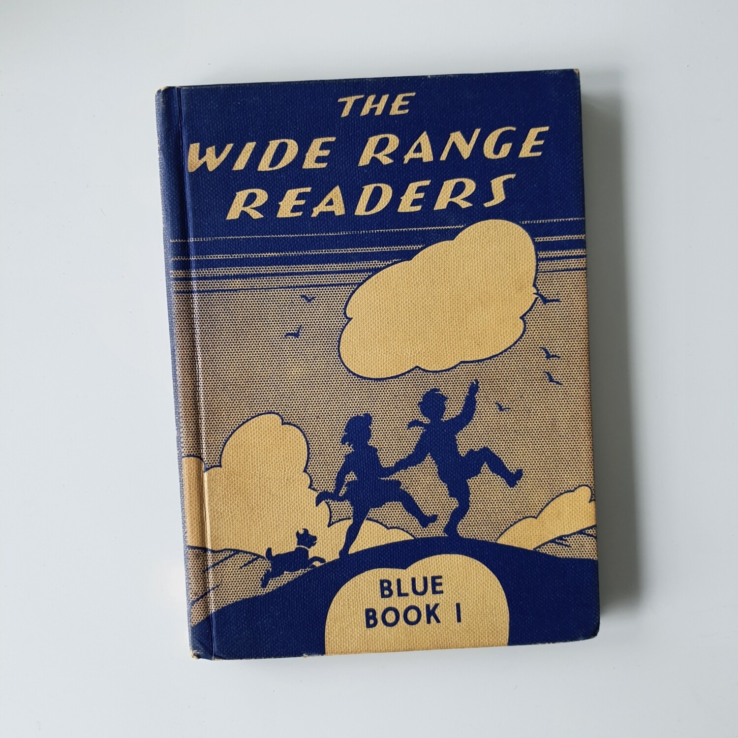 1958 The Wide Range Readers - Blue Book 1