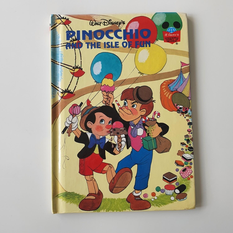 Pinocchio and the Isle of Fun Notebook ice cream
