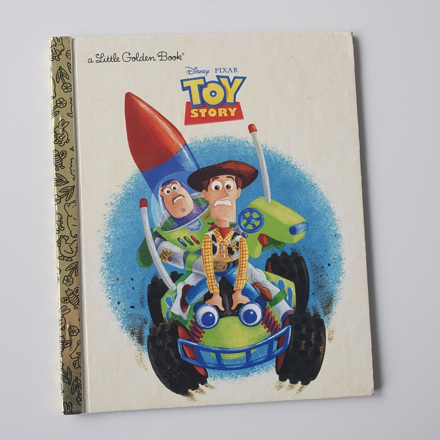 Toy Story  Notebook - board book will come with metal book corners included, no original pages