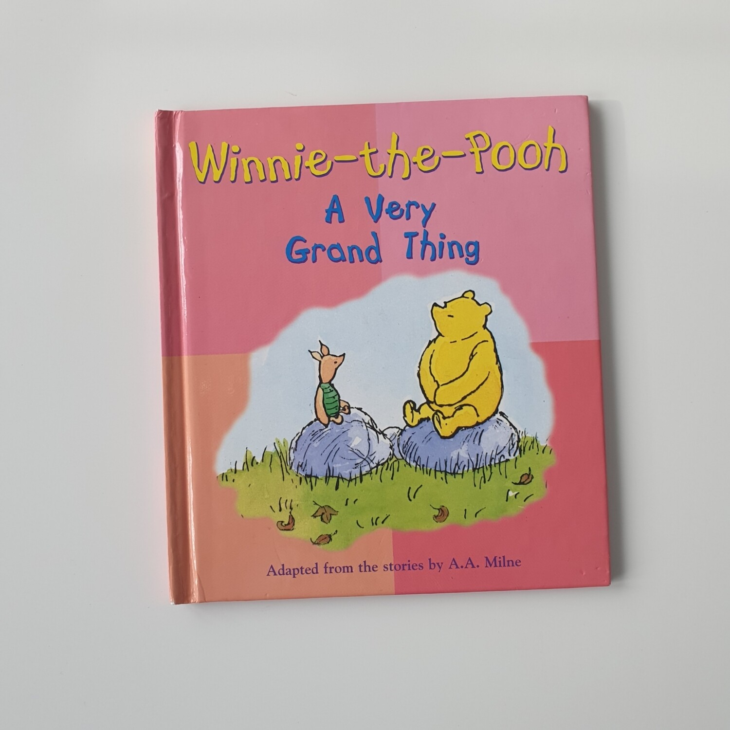 Winnie the Pooh A Very Grand Thing Notebook