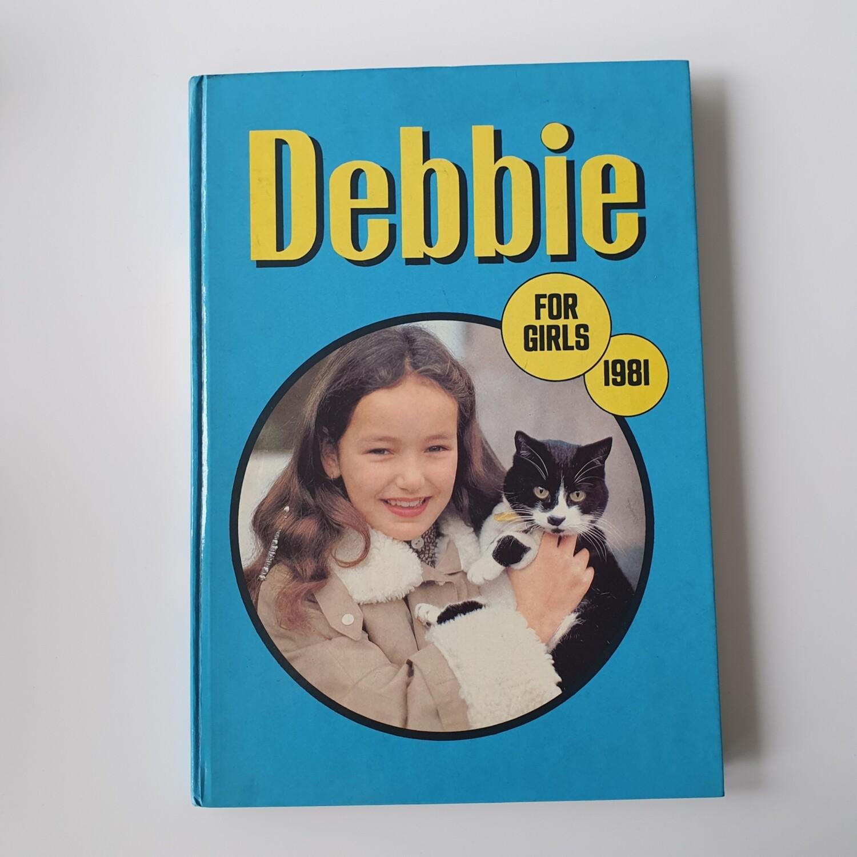 Debbie for Girls 1981 Annual - cat