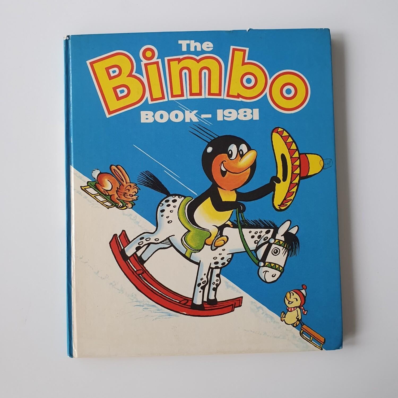 Bimbo Annual 1981 - Penguin rocking horse