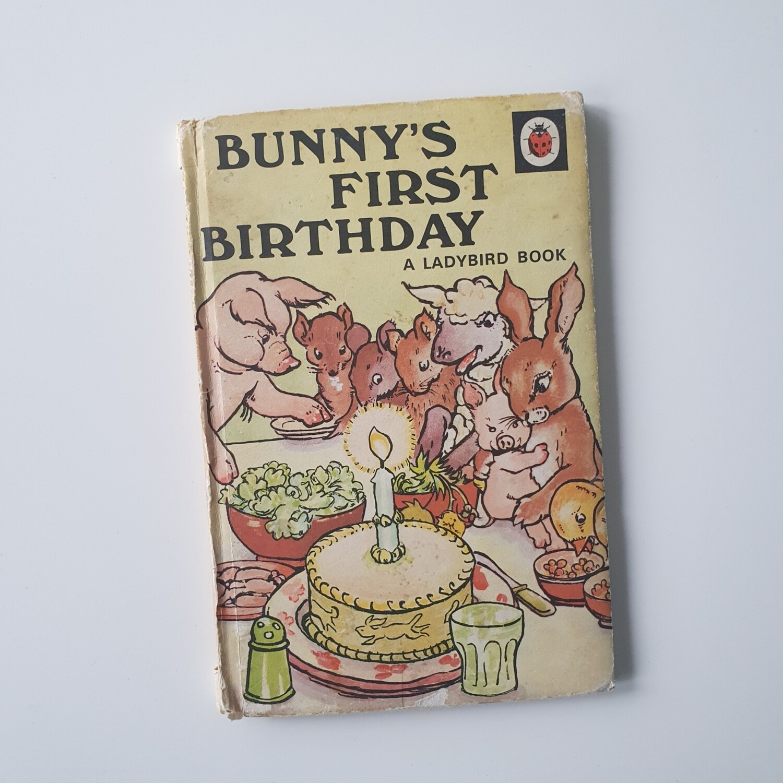 Bunny's First Birthday Notebook
