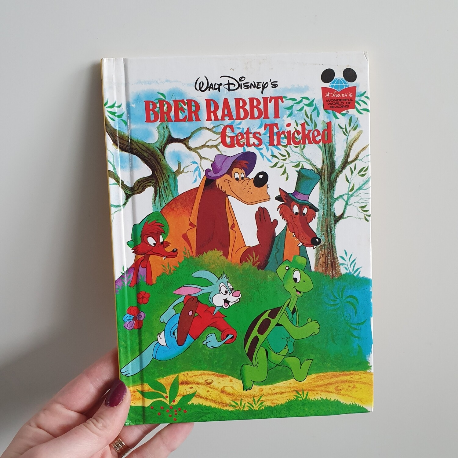 Brer Rabbit Notebook - Gets Tricked  - from Song of the South