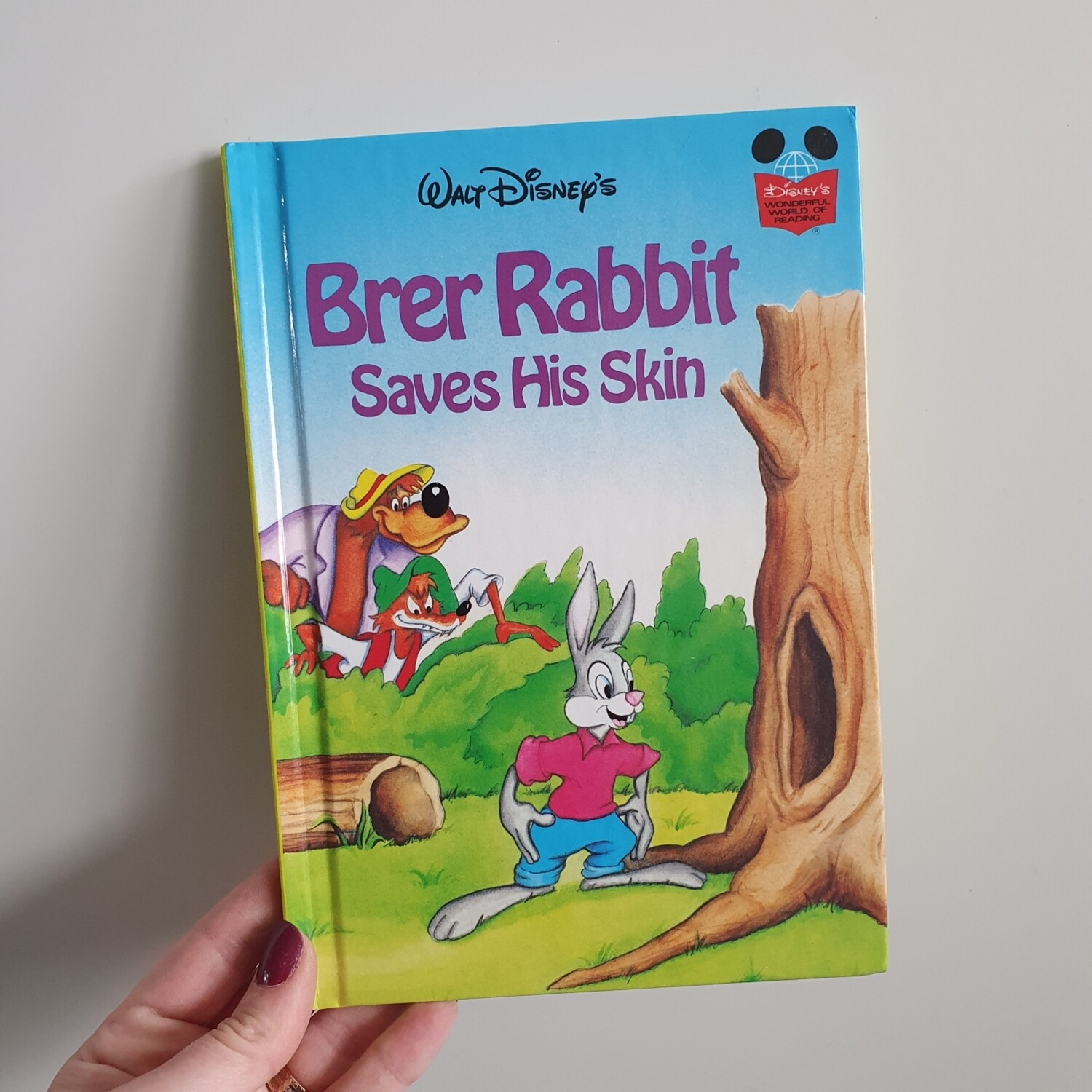 Brer Rabbit Notebook - saves his skin  - from Song of the South