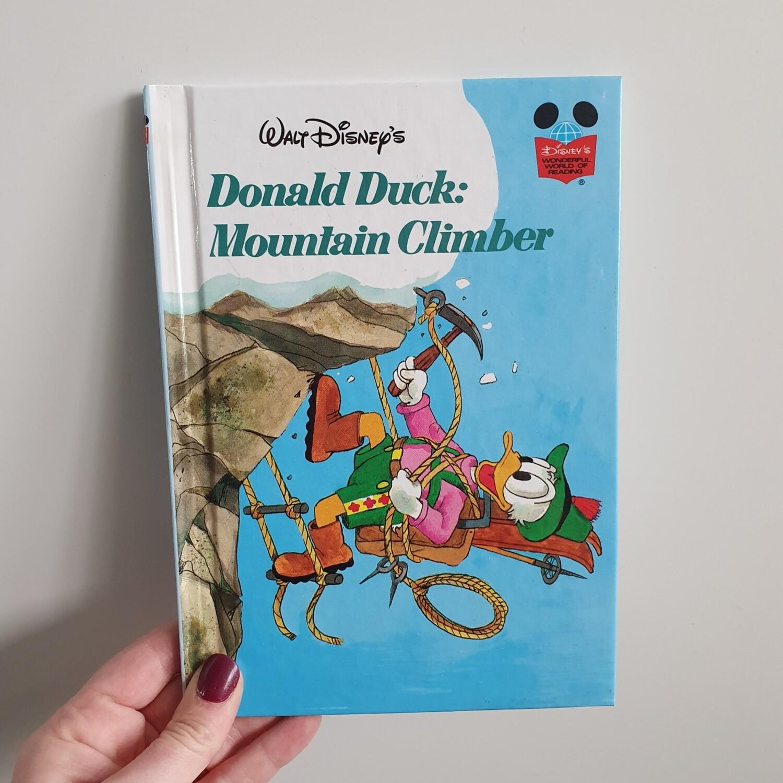 Donald Duck Mountain Climber Notebook