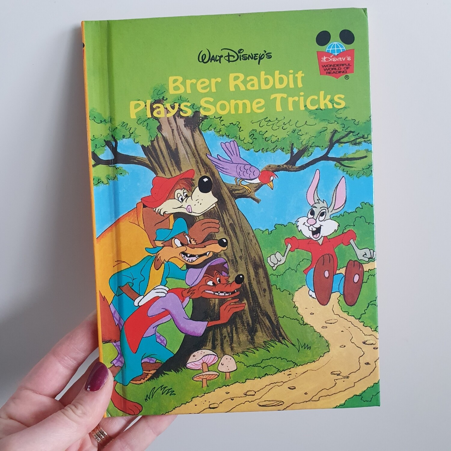 Brer Rabbit Notebook - plays some tricks  - from Song of the South
