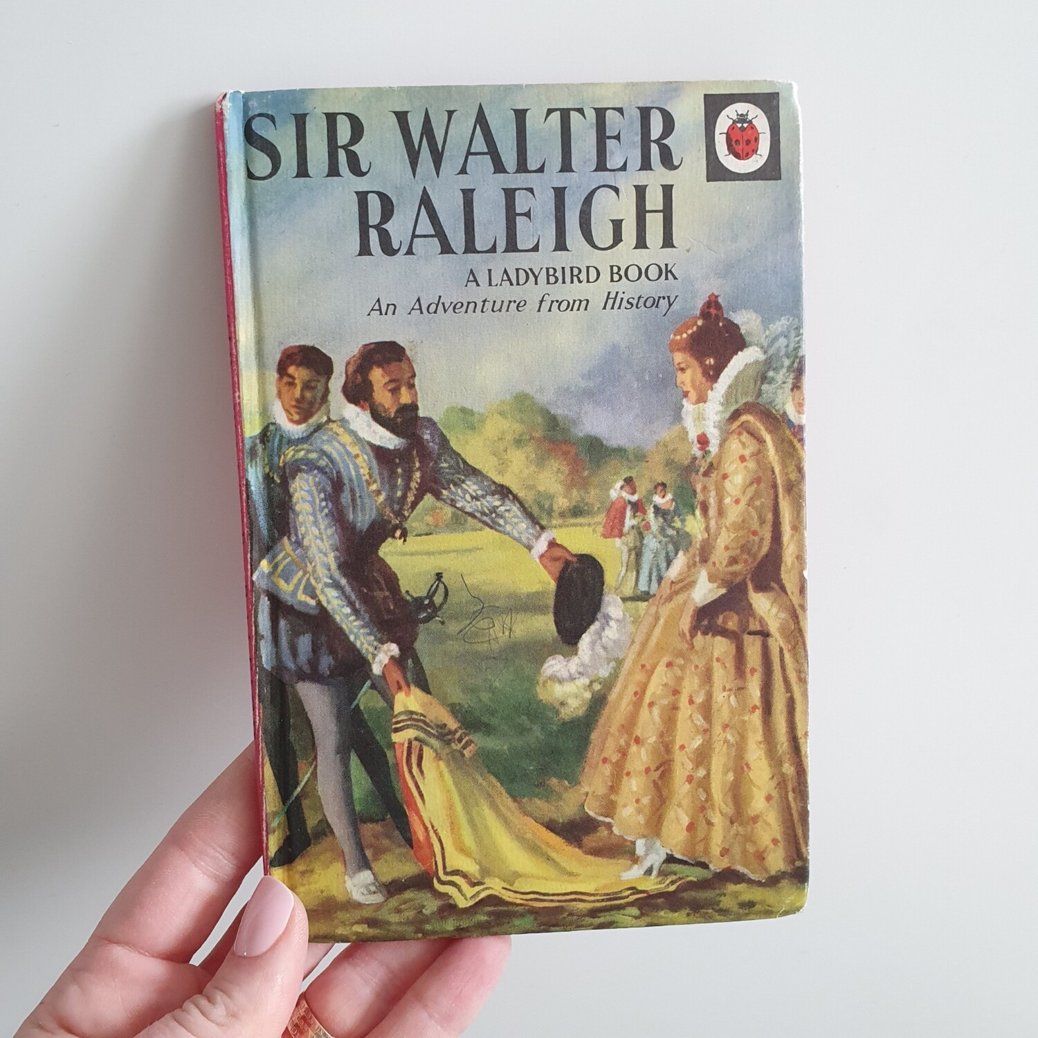 Sir Walter Raleigh Notebook - Queen Elizabeth I