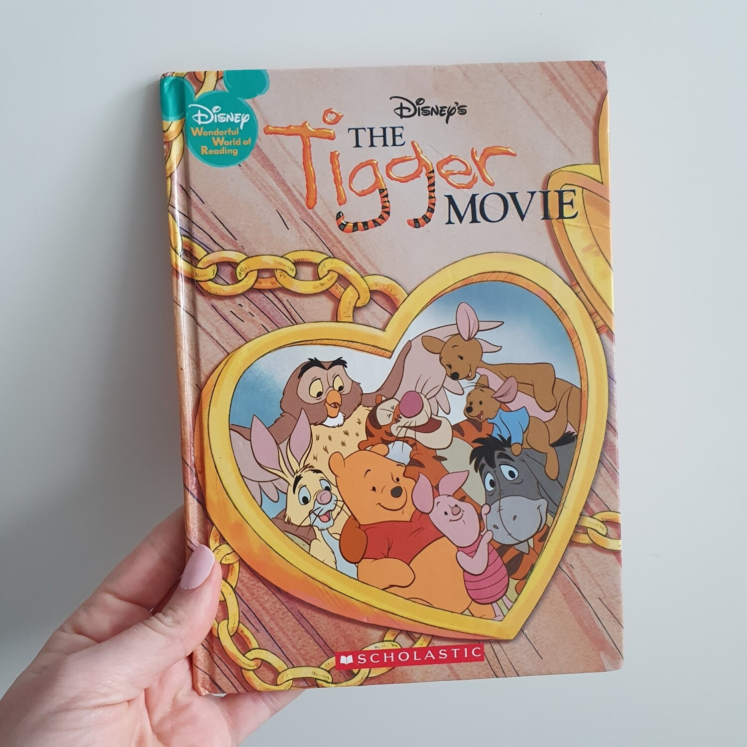 Tigger Movie Notebook - crease on cover see photo