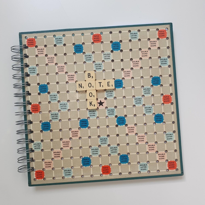 Scrabble Travel Notebook