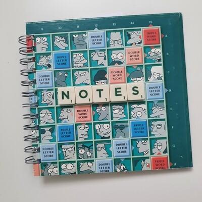 Scrabble Simpsons Notebook