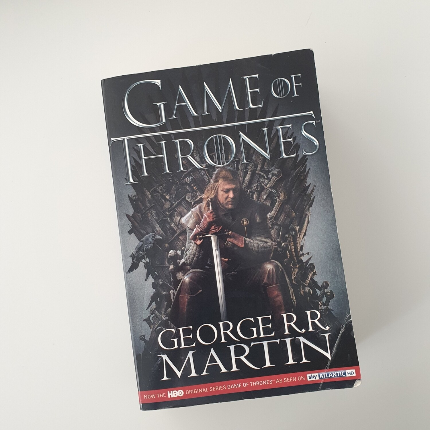 Game of Thrones Notebook - made from a paperback book