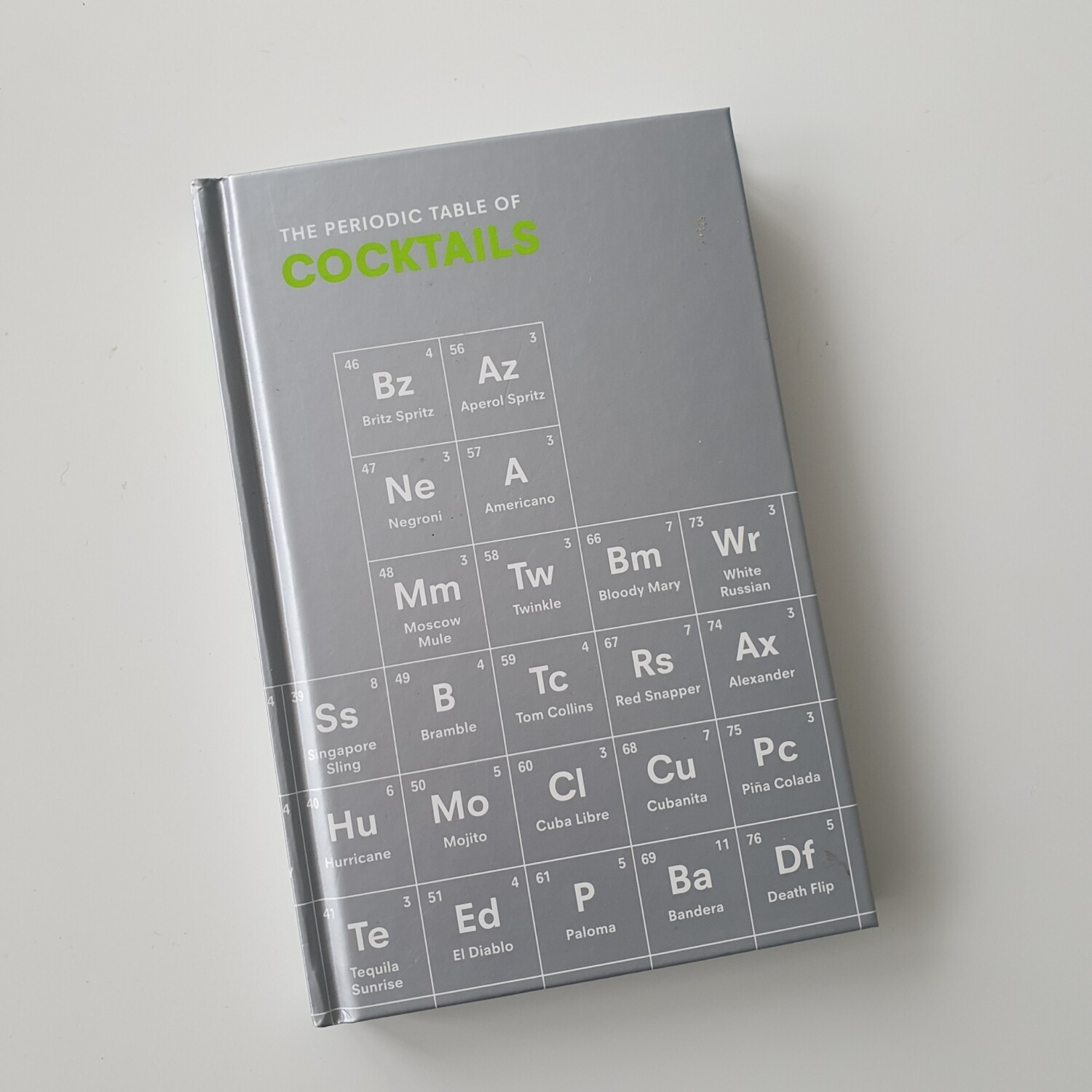 Periodic Table of Cocktails Notebook