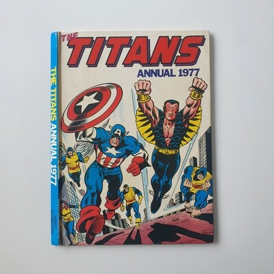 The Titans Annual 1977 - Captain America