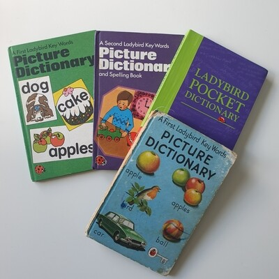 Dictionary - Choose from a selection of Vintage Ladybird Books