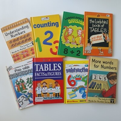 Maths Books - Choose from a selection of Vintage Ladybird Books