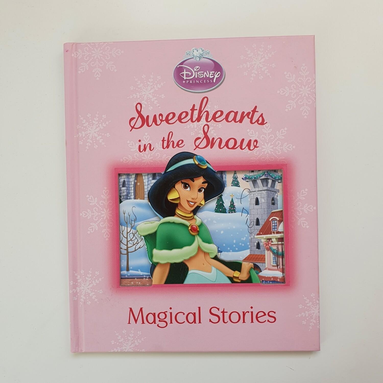 Jasmine Aladdin Sweethearts in the Snow  Notebook