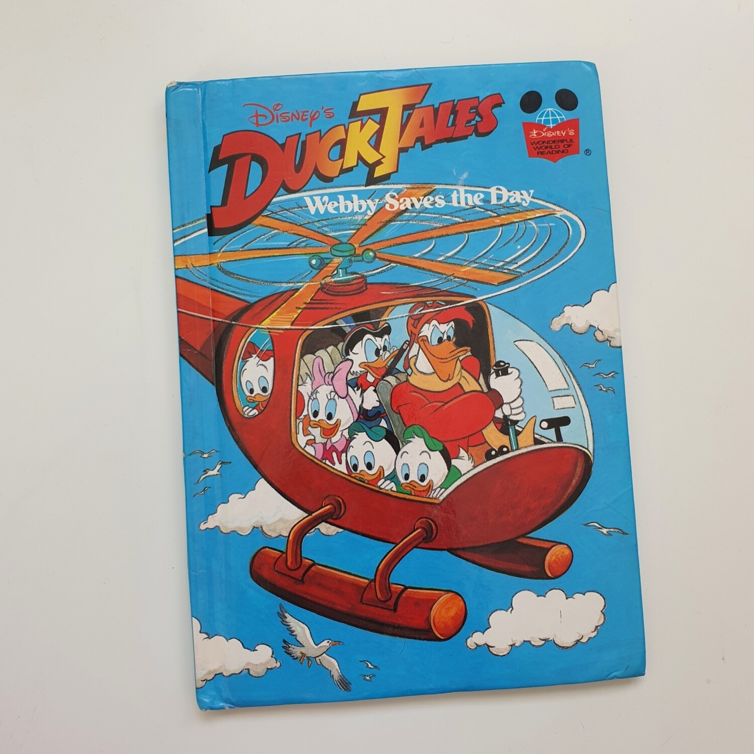 Duck Tales Webby Saves the Day Notebook