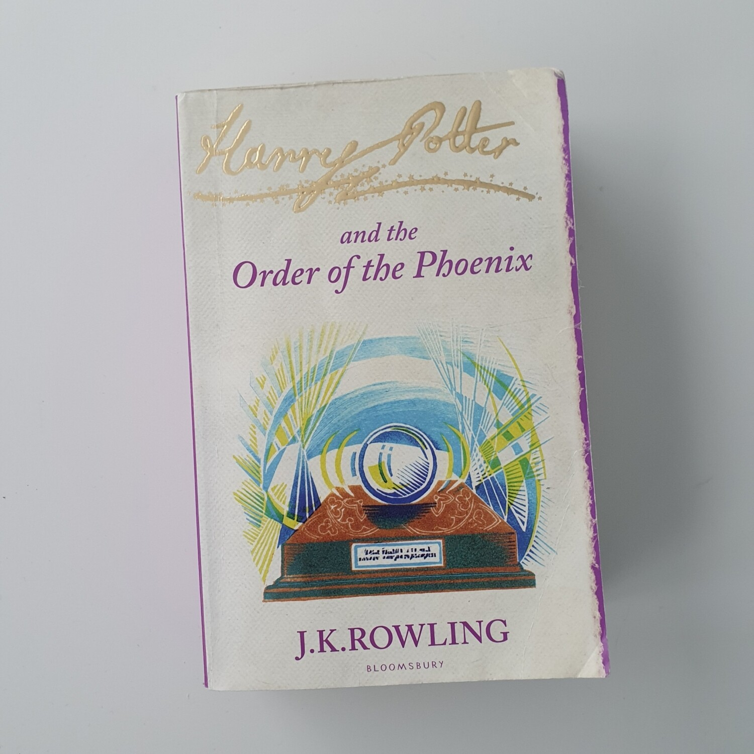 Harry Potter and the Order of the Phoenix - made from a paperback book